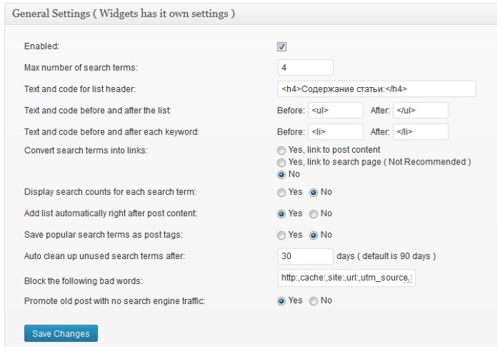Продвижение сайта на wordpress