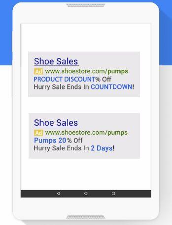 Модификаторы объявлений с фидами в Google AdWords